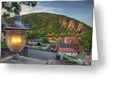 Hdr - Harpers Ferry Greeting Card