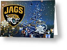 Jacksonville Jaguars Greeting Card