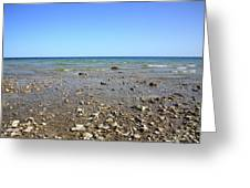 Lake Huron Greeting Card by Frank Romeo
