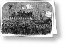 Presidential Campaign, 1864 Greeting Card
