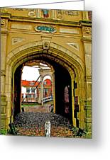 1540 Entrance To Enkhuizen-netherlands Greeting Card