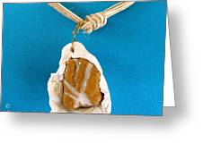 Aphrodite Gamelioi Necklace Greeting Card