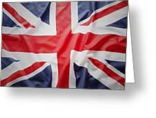 British Flag 23 Greeting Card