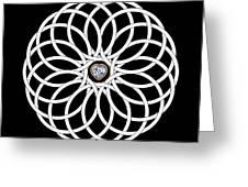 16 Circles Greeting Card
