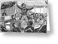 Davy Crockett (1786-1836) Greeting Card