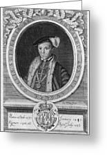 Edward Vi (1537-1553) Greeting Card