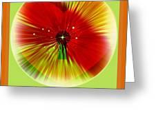 La Fleur De Mon Coeur Greeting Card