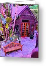 Malibu Cottage Greeting Card