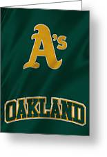 Oakland Athletics Greeting Card