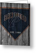 San Diego Padres Greeting Card