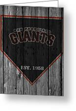 San Francisco Giants Greeting Card