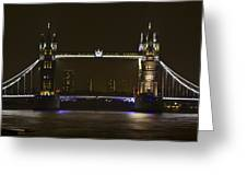 Tower Bridge Greeting Card