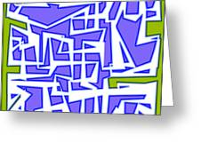1623 Abstract Thought Greeting Card
