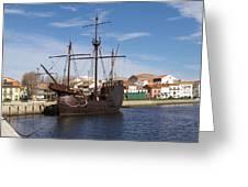16th Century Ship Greeting Card