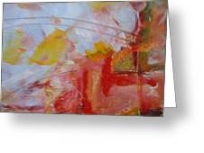 Abstract Exhibit Greeting Card