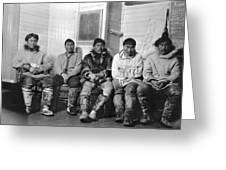 Alaska Eskimos Greeting Card