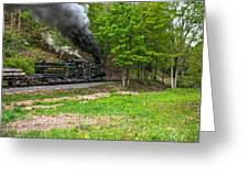 Cass Scenic Railroad Greeting Card