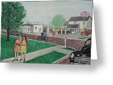 17th And Hutchins Street Portsmouth Ohio Greeting Card
