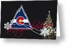 Colorado Rockies Greeting Card