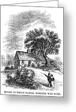 Daniel Webster (1782-1852) Greeting Card