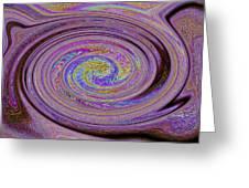 Digital Art Abstract Greeting Card