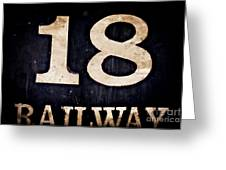 18 Railway Greeting Card