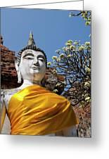 Thailand, Ayutthaya Greeting Card