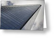 The Shard London Greeting Card