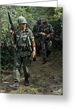 Vietnam War, 1967 Greeting Card