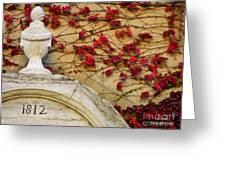 1812 Fountain Greeting Card
