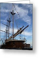 1812 Tall Ships Peacemaker Greeting Card