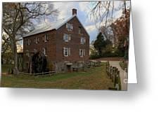 1823 North Carolina Grist Mill Greeting Card