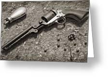 1851 Navy Revolver 36 Caliber - 2 Greeting Card