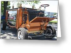 1852 Cunningham Hearse With 383 Chevy Stroker Engine Greeting Card