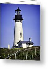 1872 Historic Lighthouse Greeting Card