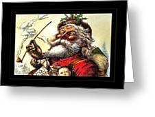 1881 Santa Greeting Card