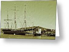 1886 Balclutha Greeting Card