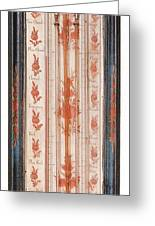 18th Century Thermometer-barometer Greeting Card