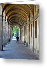 Europe, Italy, Lucca Greeting Card