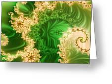 Fantasy Fractal Greeting Card