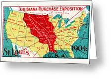 1904 Louisiana Purchase Exposition Greeting Card