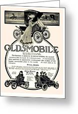 1904 - Oldsmobile Automobile Advertisement Greeting Card