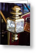 1907 Panhard Et Levassor Lamp Greeting Card