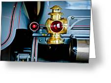 1908 Buick Model S Tourabout Taillight Greeting Card