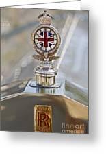 1909 Rolls Royce Greeting Card