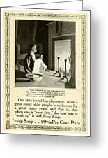 1910 - Ivory Soap Christmas Proctor And Gamble Advertisement  Greeting Card