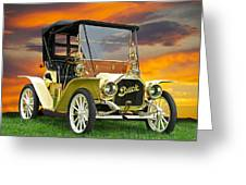 1910 Buick Roadster - Runabout Greeting Card