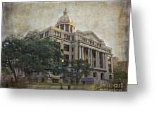 1910 Harris County Courthouse  Greeting Card