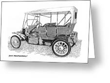 1911 Maxwell A B Greeting Card