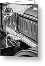 1912 Rolls-royce Silver Ghost Rothchild Et Fils Style Limousine Snake Horn -0711bw Greeting Card
